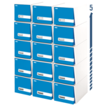 "Bankers Box® Stor/Drawer® Premier™ – 18"" Letter, Blue"