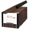 Bankers Box® Systematic® - Letter, Woodgrain Box
