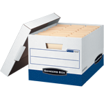Bankers Box Heavy-Duty Storage Boxes